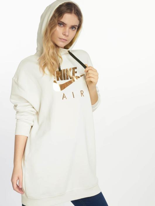 Nike   Shine beige Femme Sweat capuche 538398 290bb373d0b0