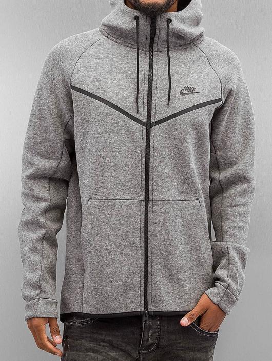 Nike 257650 Tech Homme Sweat Gris Fleece Zippé Capuche Sportswear 0qggHS ed3863cedf6
