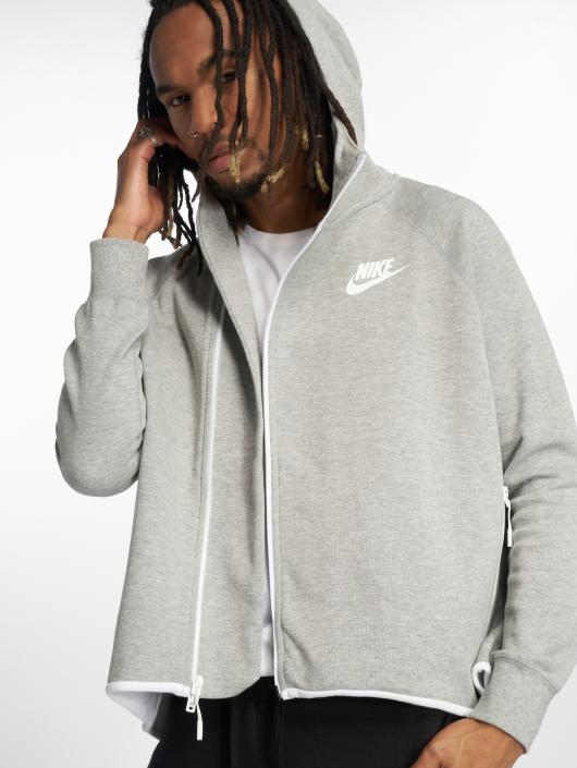 f15732822cb05 Nike   Tech Fleece gris Homme Sweat capuche zippé 538502