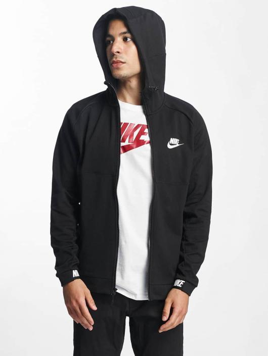 Zippé 336184 Sportswear 15 Sweat Noir Capuche Homme Nike Advance 0wd78q8