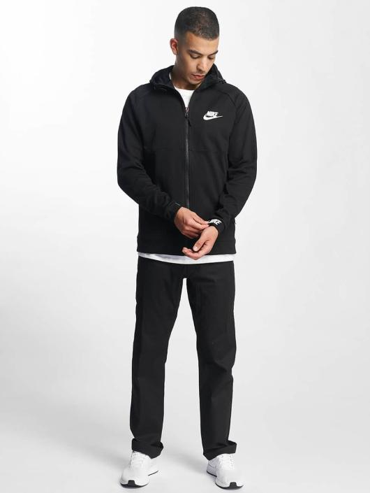 ba28cad9a7822 Nike   Sportswear Advance 15 noir Homme Sweat capuche zippé 336184