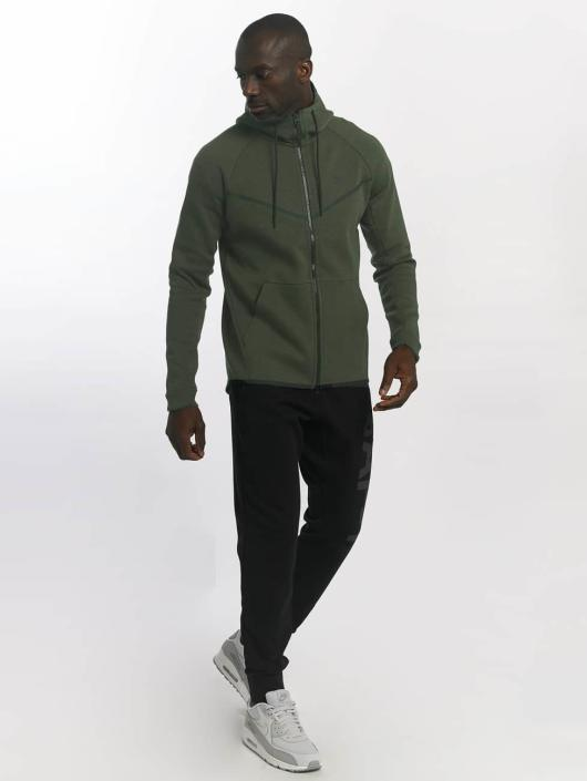 Nike Sweat capuche zippé Sportswear Tech Fleece vert
