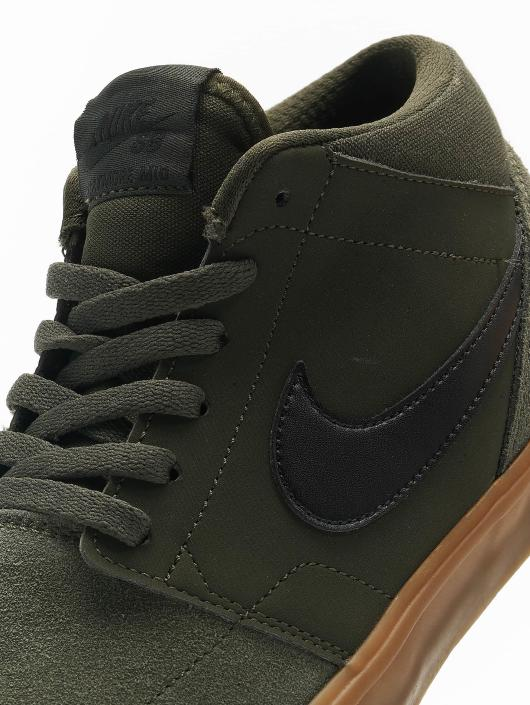 Nike Tøysko SB Solarsoft Portmore ll Mid Skateboarding grøn