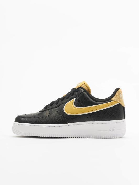 Nike Tøysko Air Force 1 '07 Se svart