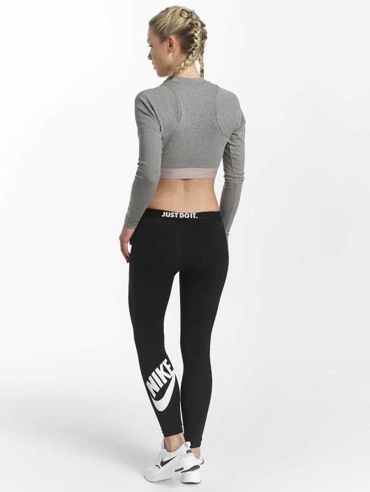 Nike T-Shirt manches longues Sportswear gris