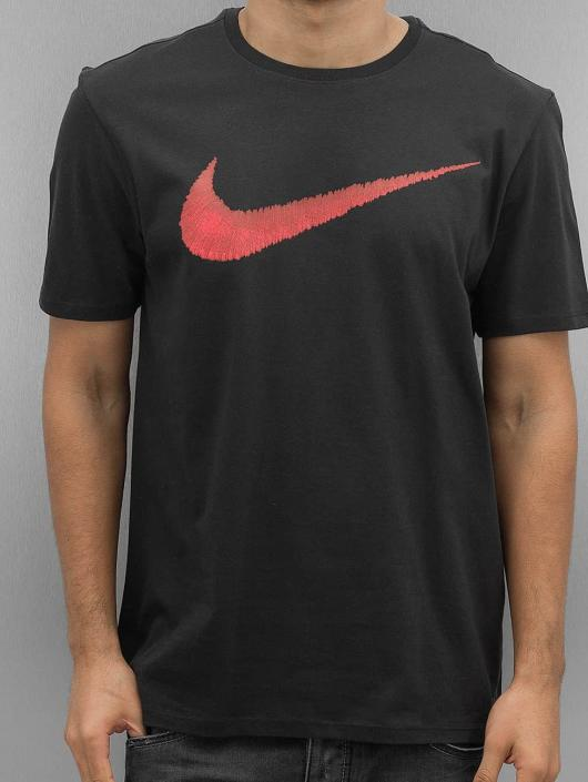 quality design 2075c f379d Nike Hangtag Swoosh T-Shirt Black/Sport Red