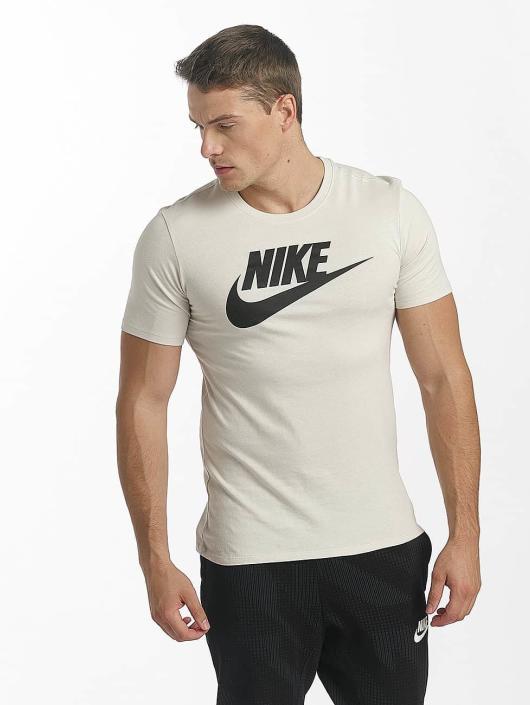competitive price 2b838 f15d6 Nike Futura Icon T-Shirt Light Bone/Black