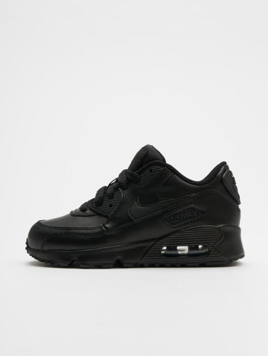 the latest 61223 e5975 ... Nike Tennarit Air Max 90 Leather PS musta ...