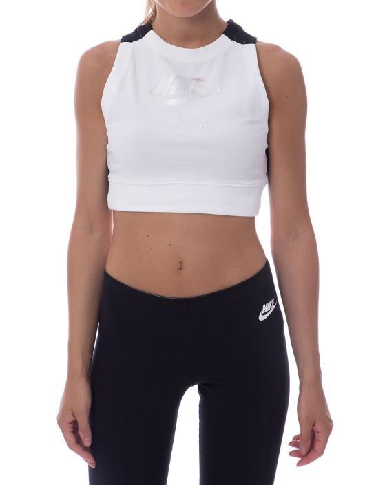 Nike Top Crop Air white