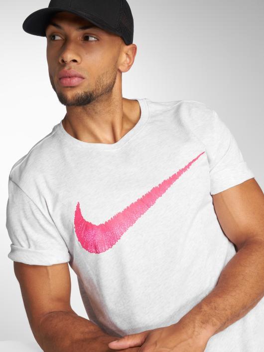 Nike Tričká Swoosh šedá