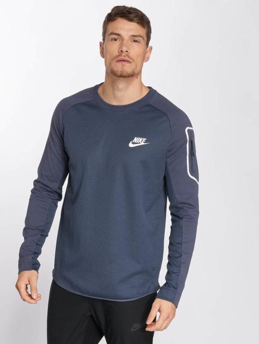 Nike Tričká dlhý rukáv Sportswear AV15 modrá