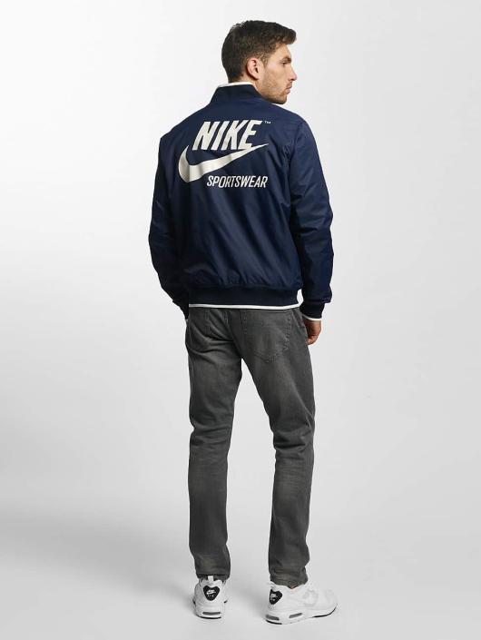 364289 Homme Mi Nike Légère Archive Saison Veste Nsw Bleu qUBRt8