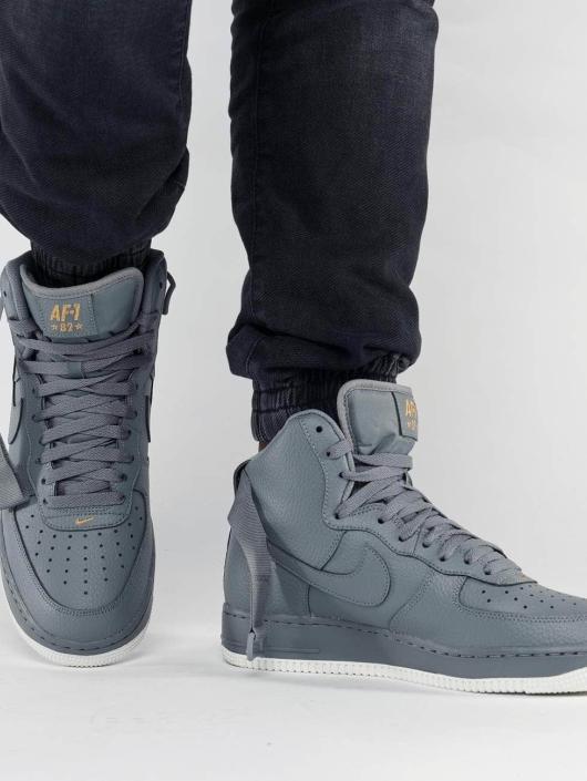 Nike Zapatillas de deporte Air Force 1 High 07 gris