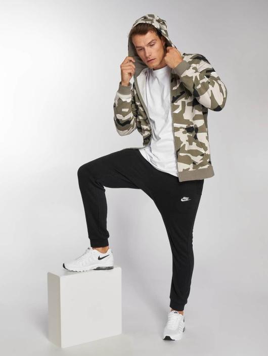 Nike Zip Hoodie Sportswear Club камуфляж