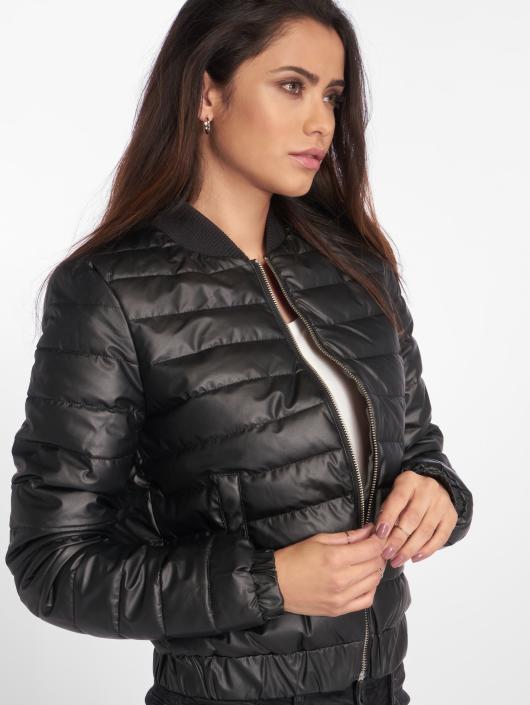 Noisy May Демисезонная куртка nmBrenda черный