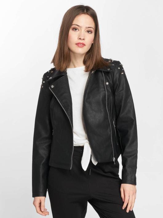 Noisy May Кожаная куртка nmCora черный