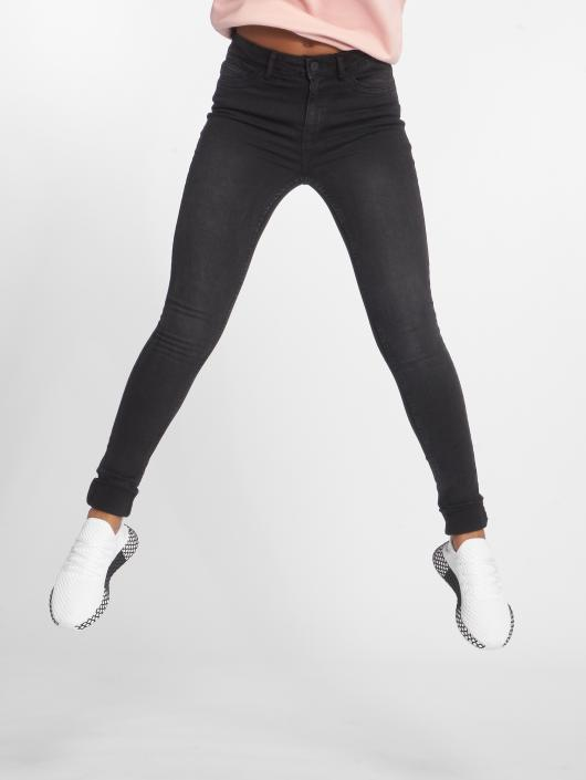Noir Jean Skinny Femme Nmlucy Noisy Piping May Pocket 511628 xUPIqRzH