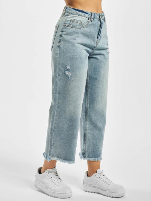 Noisy May Loose fit jeans nmPaige blauw