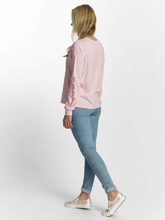 Noisy May Pitkähihaiset paidat nmFrancis roosa