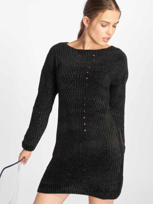 Noisy May Robe nmMaria Knit noir