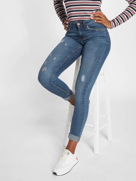 Noisy May Skinny Jeans nmLucy blau