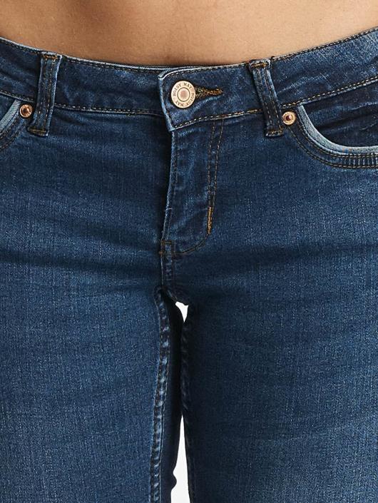 Noisy May Skinny Jeans nmEve niebieski