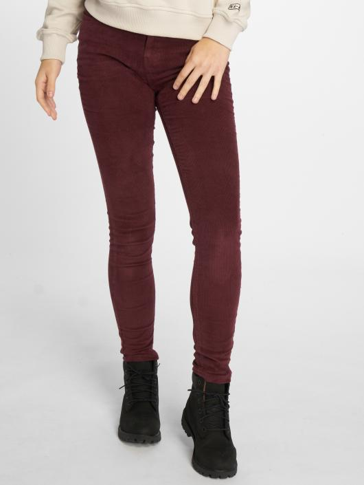 Noisy May Skinny Jeans nmLucy Skinny Corduroy rot