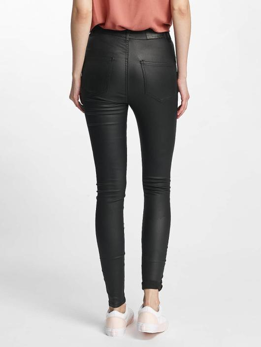 Noisy May nmElla Deluxe Coated Pants Black