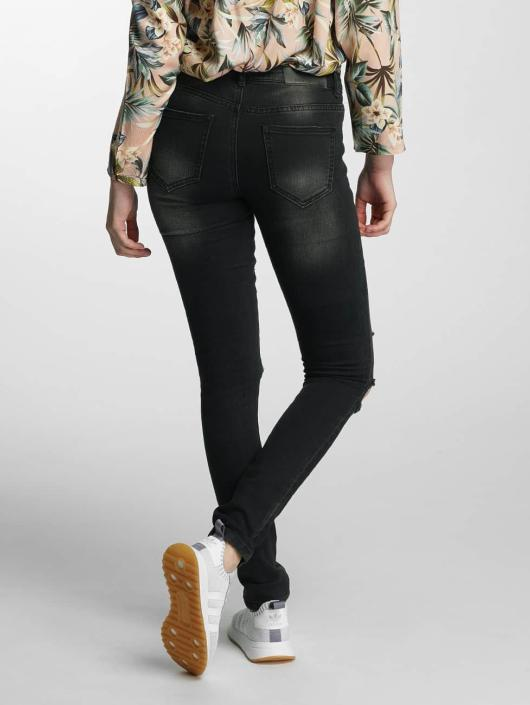 Noisy May Slim Fit Jeans nmEve Super Slim schwarz