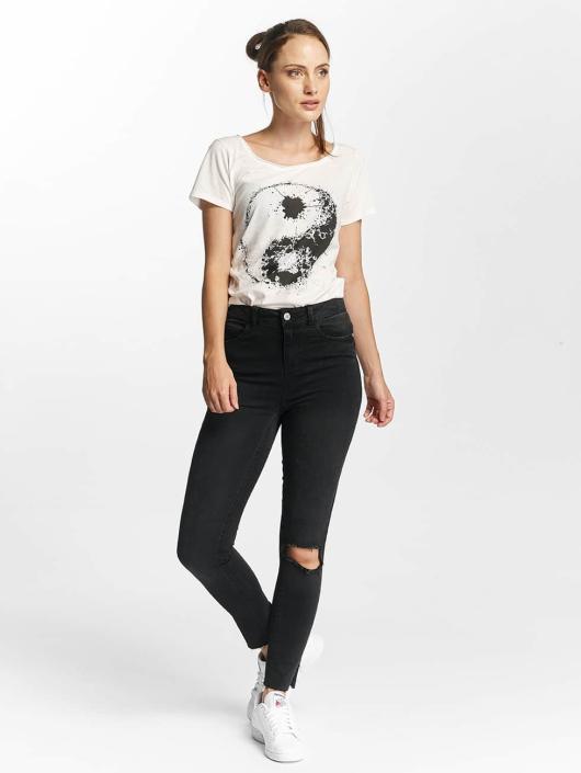 Noisy May Slim Fit Jeans nmLexi svart