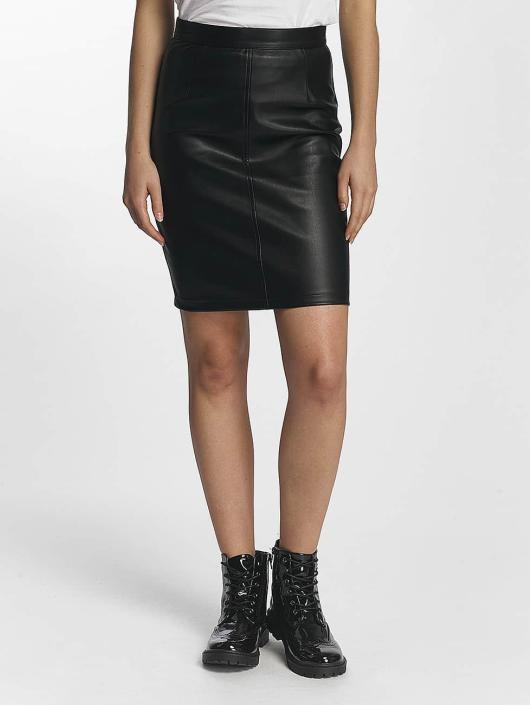 Noisy May Spódniczki Penny PU czarny