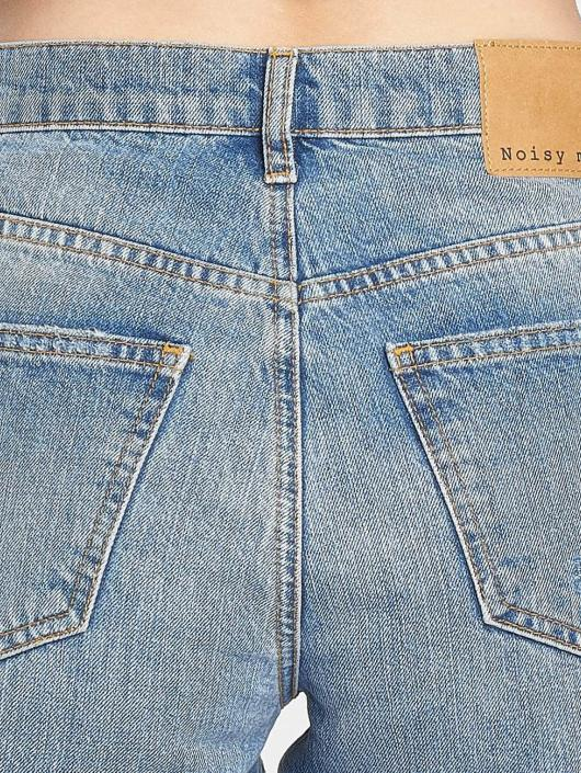 Noisy May Straight Fit Jeans Liv blå
