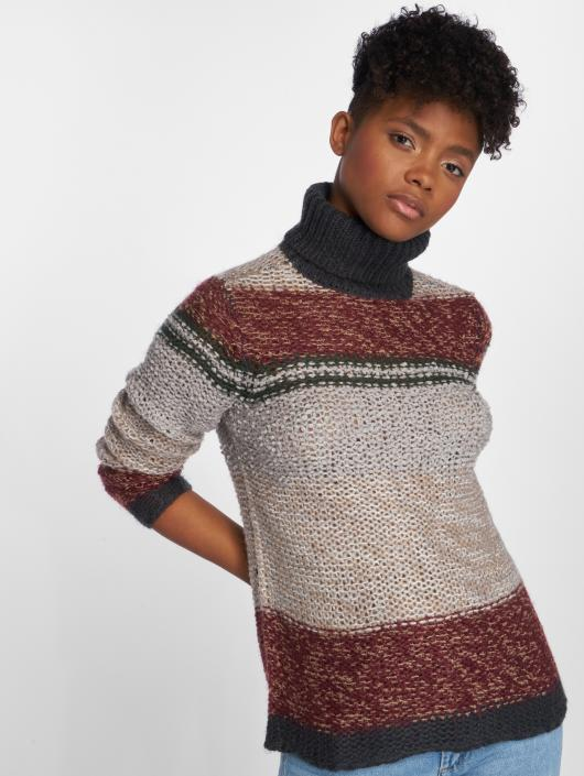 Noisy May Swetry nmCash Knit szary