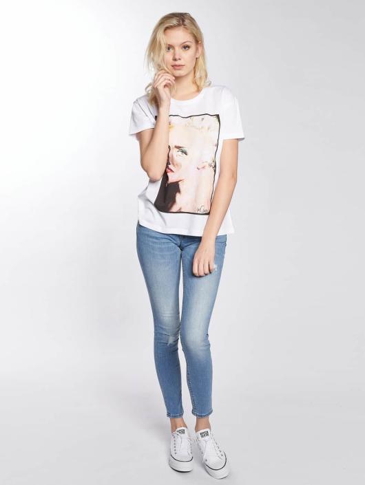 Noisy May T-shirt nmCommand Madonna bianco