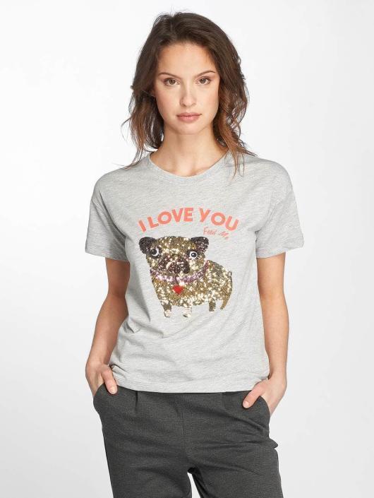 Noisy May T-Shirt nmAlfred grau