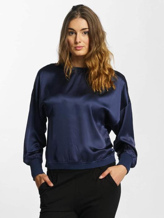 Nmflus 349457 Femme Top 4 Longues Bleu T May shirt Manches Noisy 3 Ssx5 1FuJc3TKl
