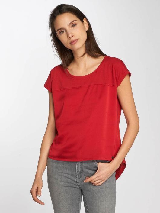 Nümph T-Shirty Celestina czerwony