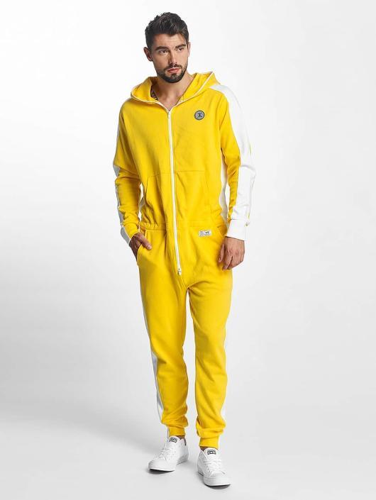 Onepiece jumpsuit Racer geel