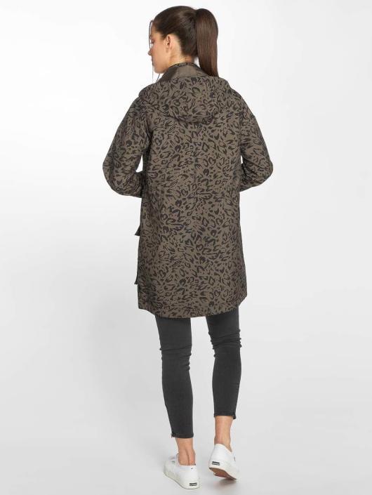 Only Демисезонная куртка onlJasmin оливковый