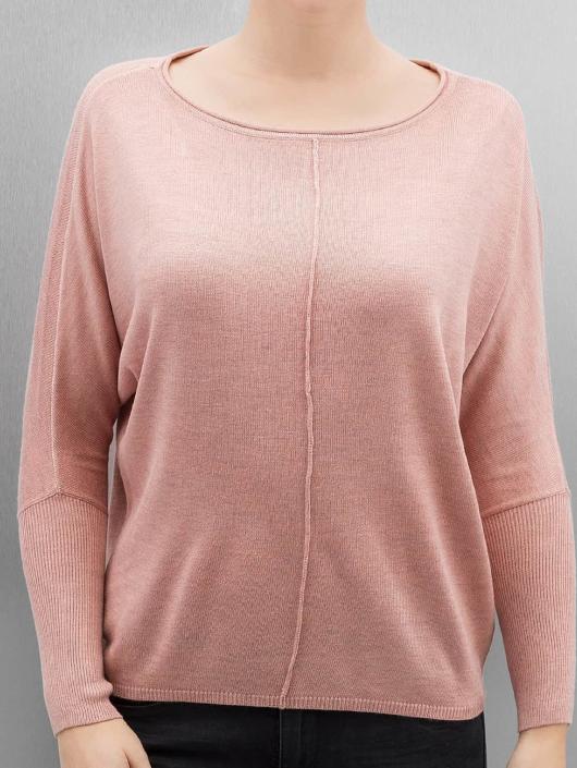 Only Пуловер OnlCosy розовый