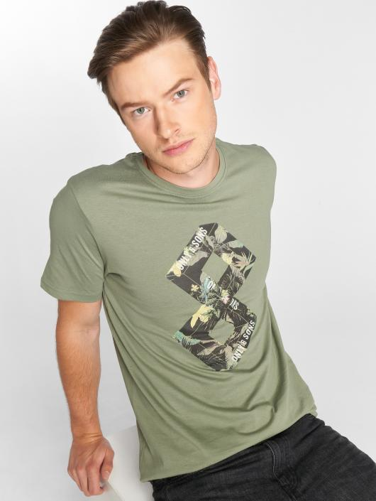Only & Sons Camiseta onsDorm verde