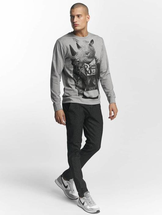 Only & Sons Langermet onsVIll Animal Print grå
