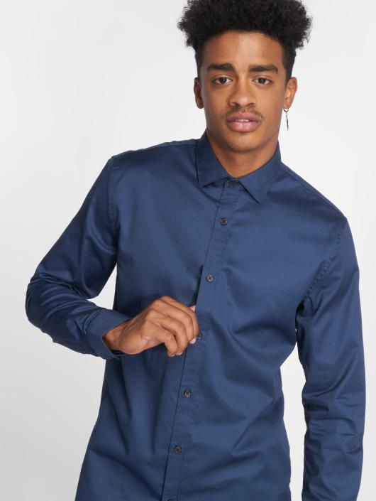 Only & Sons Shirt onsAlves 2-Ply Easy Iron blue