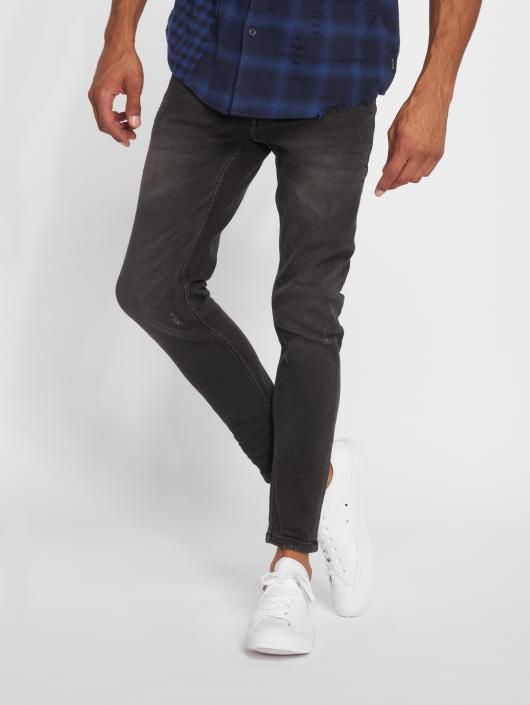 Only & Sons Skinny Jeans onsWarp Washed czarny
