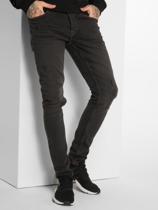 Only & Sons Slim Fit Jeans onsSpun Jog Damage Pk 0473 šedá