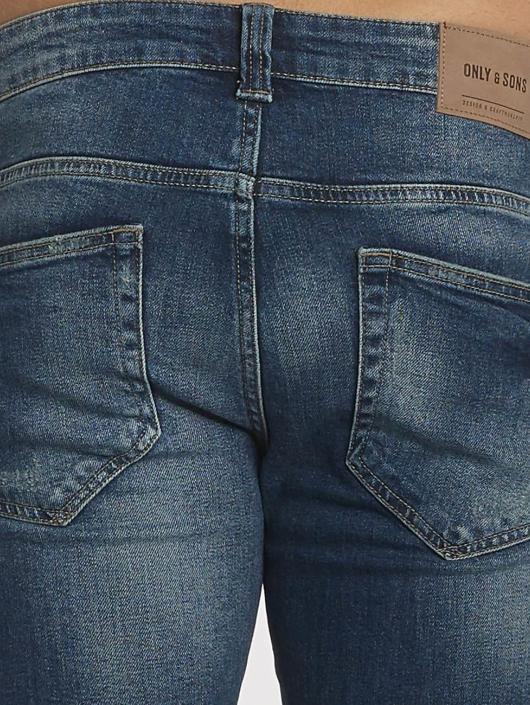 Only & Sons Slim Fit Jeans onsAvi Loom blå
