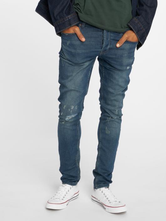 Only & Sons Slim Fit Jeans onsSpun Jog Damage blå