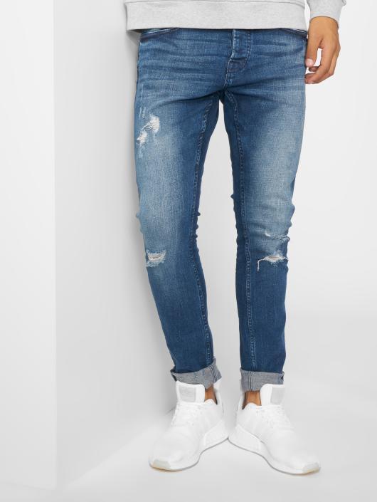 Only & Sons Slim Fit Jeans onsSpun Damage modrá