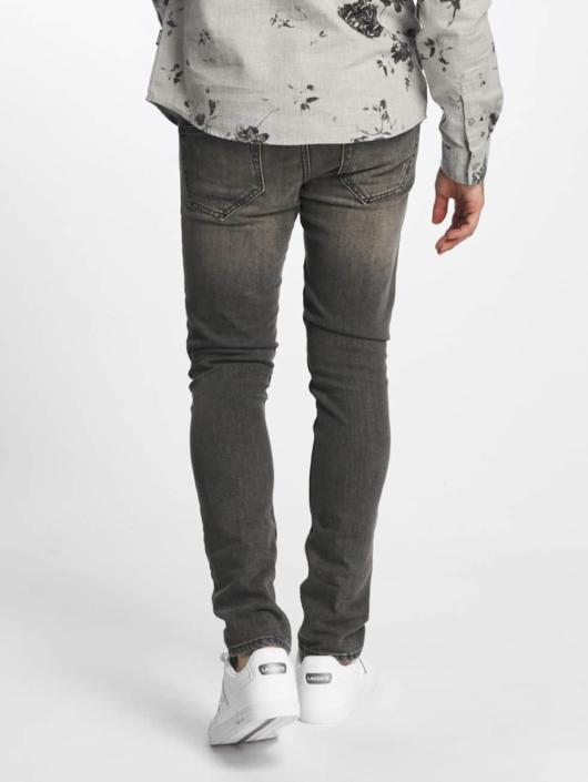 Only & Sons Straight Fit Jeans onsLoom Destroy Patch grå