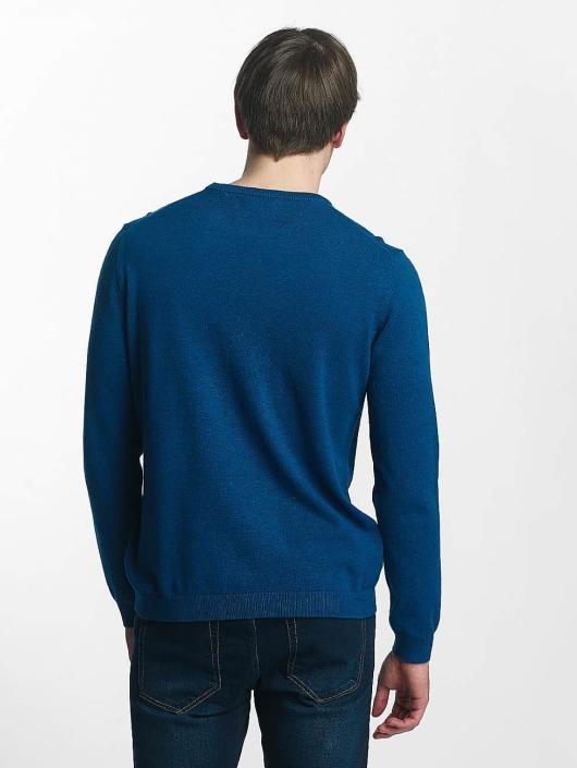 Only & Sons Swetry onsAlex Crew Neck niebieski